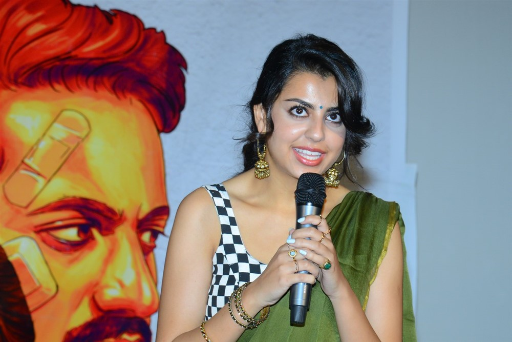 Sasha Singh @ Edaina Jaragocchu Movie Trailer Launch Stills
