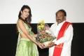 Pooja Solanki, Paruchuri Gopala Krishna @ Edaina Jaragochu Audio Release Photos