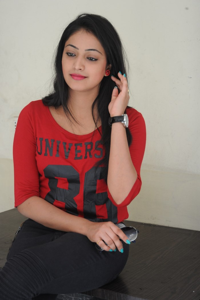 Actress Haripriya @ Ee Varsham Sakshiga Movie Success Meet Stills