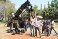 SS Rajamouli at Eega Movie On Location Latest Stills