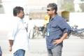 SS Rajamouli, Sai Korrapati at Eega Movie Working Stills