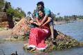 Aryan Rajesh, Saranya Nag in Eera Veyil Tamil Movie Stills