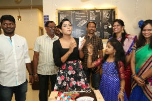 Chef Baker's Launch By Eesha Rebba @ Q City Gachibowli Photos