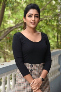 Heroine Eesha Rebba New Stills at Subrahmanyapuram Movie Interview