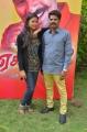 Jothisha, V Ravi @ Eganapuram Movie Team Interview Stills