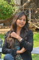Actress Jothisha Ammu @ Eganapuram Movie Team Interview Stills