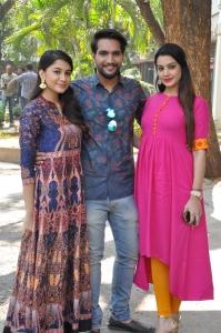 Simran, Aashish Raj, Diksha Panth @ Ego Movie Teaser Launch Photos