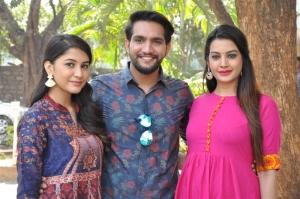 Ego Telugu Movie Teaser Launch Photos