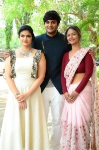 Kalpika Ganesh, Aditi Myakal @ Ekam Movie Teaser Launch Stills