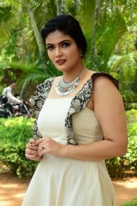 Actress Kalpika Ganesh @ Ekam Movie Teaser Launch Stills