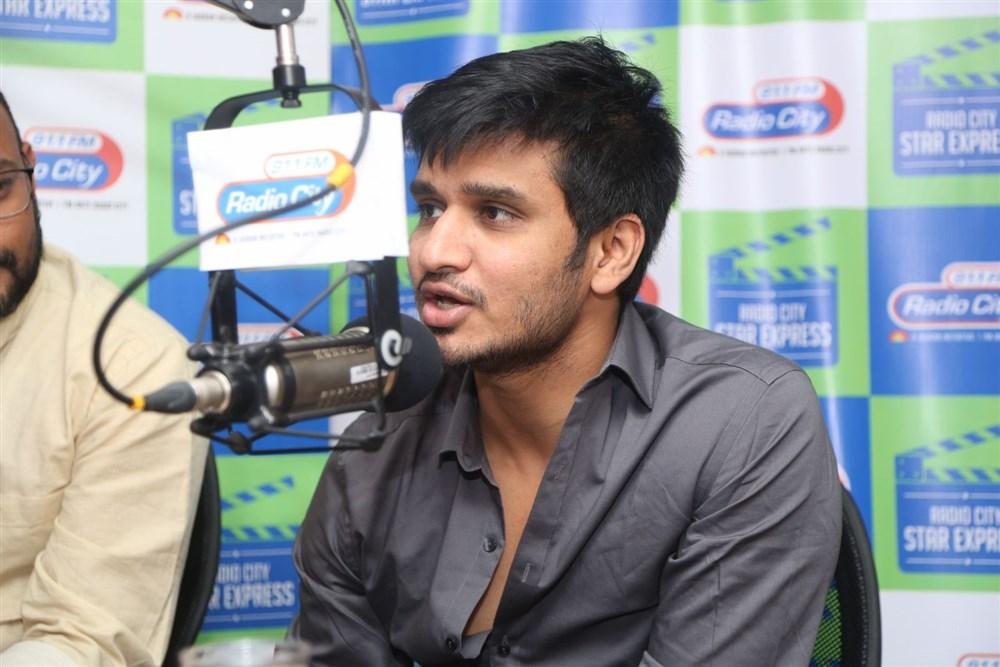 Actor Nikhil Siddharth @ Ekkadiki Potavu Chinnavada 2nd Song Launch @ Radio City Stills