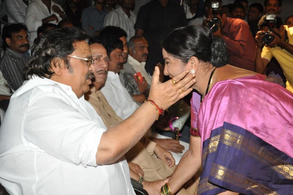 Dasari Narayana Rao @ Eluka Majaka Movie Audio Launch Photos