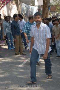 SS Rajamouli at Emo Gurram Egara Vachu Movie Launch Stills