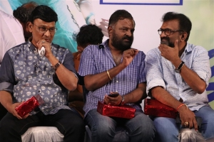 K Bhagyaraj, PL Thenappan, T Siva @ En Kadhali Scene Podura Audio Launch Photos