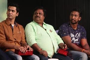Krish, Sakthi Chidambaram, Gokulnath @ En Kadhali Scene Podura Audio Launch Photos