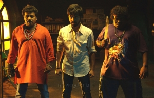 Karunas, GV Prakash Kumar, Yogi Babu in Enakku Innoru Per Irukku Movie Stills