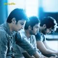 Jeeva, Santhanam, Vinay in Endrendrum Punnagai Audio Release Invitation Images