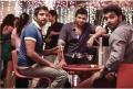 Santhanam, Jeeva, Vinay in Endrendrum Punnagai Movie Photos
