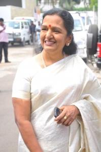 Shoba Chandrasekar @ Endrume Anandham Movie Audio Launch Stills