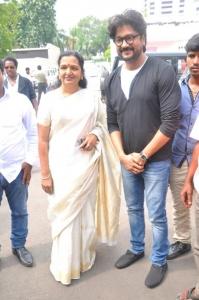 Shoba Chandrasekar, Ramji @ Endrume Anandham Movie Audio Launch Stills