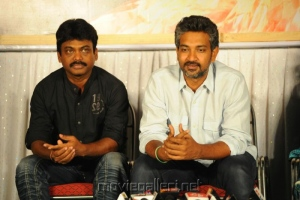 Karunakaran, SS Rajamouli at Endukante Premanta Movie Logo Launch