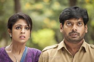 Nithin Sathya, Malavika Wales in Enna Satham Intha Neram Tamil Movie Stills