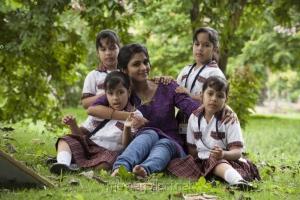 Adhiti, Aakrithi, Akshathy, Aapthi in Enna Satham Intha Neram Tamil Movie Stills