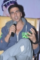 Actor Akshay Kumar @ Entertainment Movie Promotions, Hyderabad