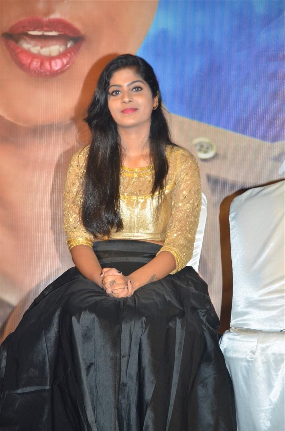 Actress Varshita @ EPCo 302 Movie Press Meet Stills