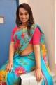 Ester Noronha Saree Stills @ 1000 Abaddalu Success Meet