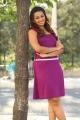 Ester Noronha Hot Pictures in Dark Magenta Dress
