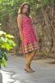 Ester Noronha New Images in Moderate Red Salwar Kameez