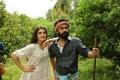 Nidhi Agarwal, Simbu in Eswaran Movie Images