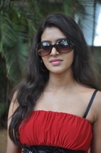 Tamil Actress Priyadarshini Hot Stills in Red Dress