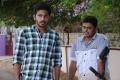 Sathya, Sam Anderson in Ettuthikkum Madhayaanai Movie Stills