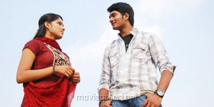 Sai Krish, Swasika in Etu Chusina Nuvve Telugu Movie Stills