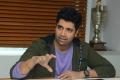 Evaru Movie Hero Adivi Sesh Interview Pictures