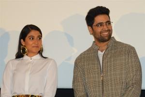 Regina Cassandra, Adivi Sesh @ Evaru Movie Success Meet Stills