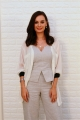 Actress Evelyn Sharma Photos @ Saaho Movie Interview
