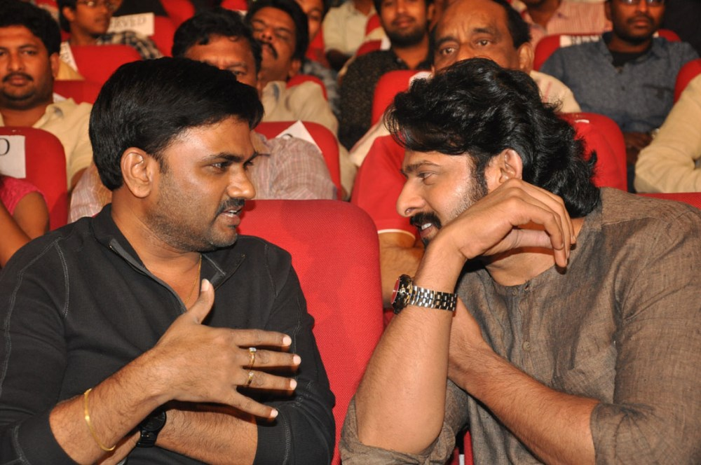 Maruthi, Prabhas @ Express Raja Movie Audio Release Photos
