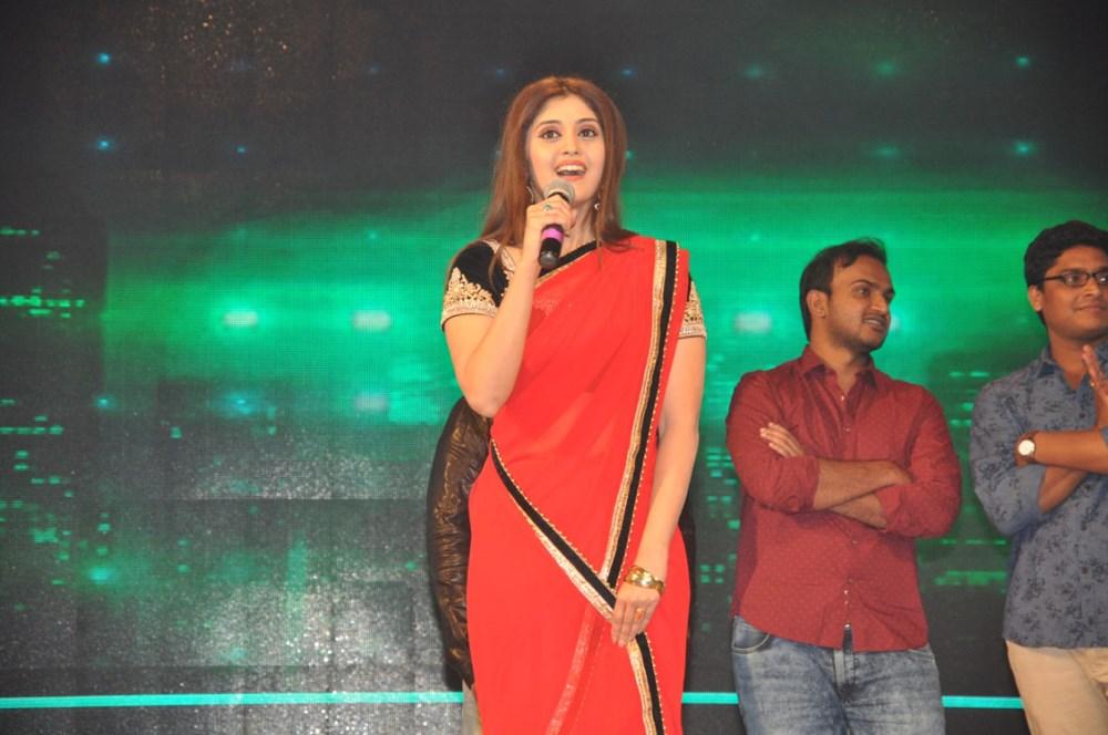 Actress Surabhi @ Express Raja Movie Audio Release Photos