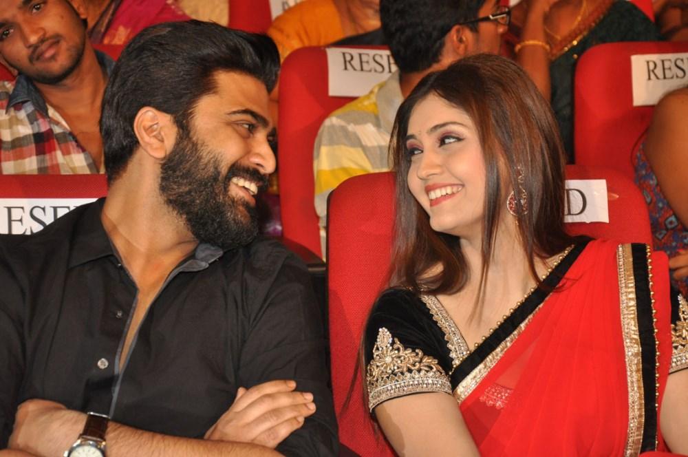 Sharwanand, Surabhi @ Express Raja Movie Audio Release Photos