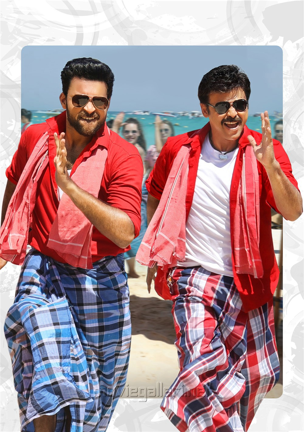 Venkatesh, Varun Tej  in F2 Fun And Frustration Movie Images HD