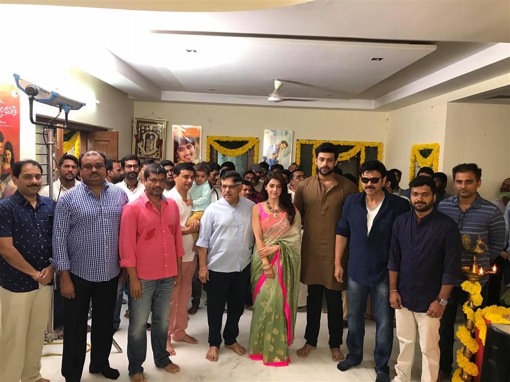 Venkatesh Varun Tej F2 Movie Opening Stills