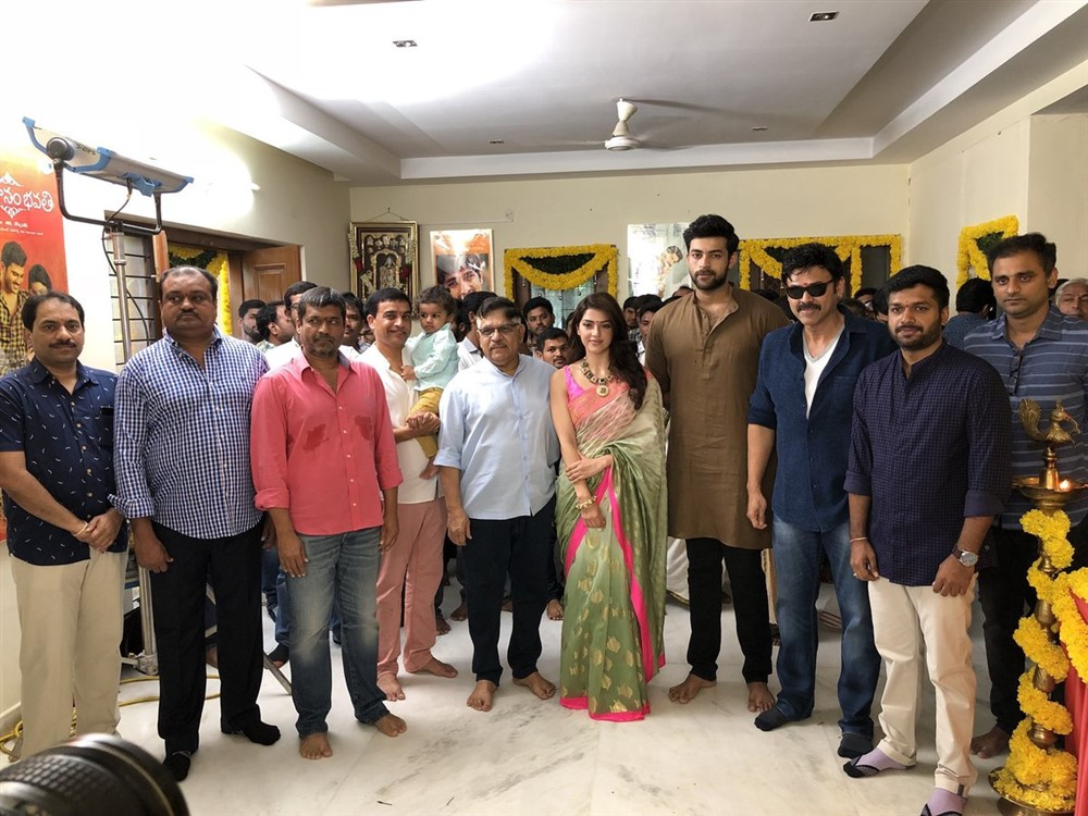 Venkatesh Varun Tej F2 Fun And Frustration Movie Opening Stills