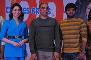 Tamannaah, Dil Raju, Anil Ravipudi @ F2 Movie 100cr Blockbuster Press Meet Stills