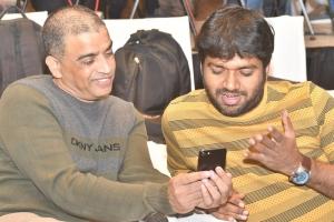 Dil Raju, Anil Ravipudi @ F2 Movie 100cr Blockbuster Press Meet Stills