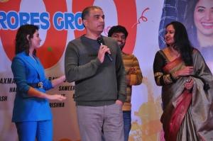 Tamannaah, Dil Raju, Pragathi @ F2 Movie 100cr Blockbuster Press Meet Stills