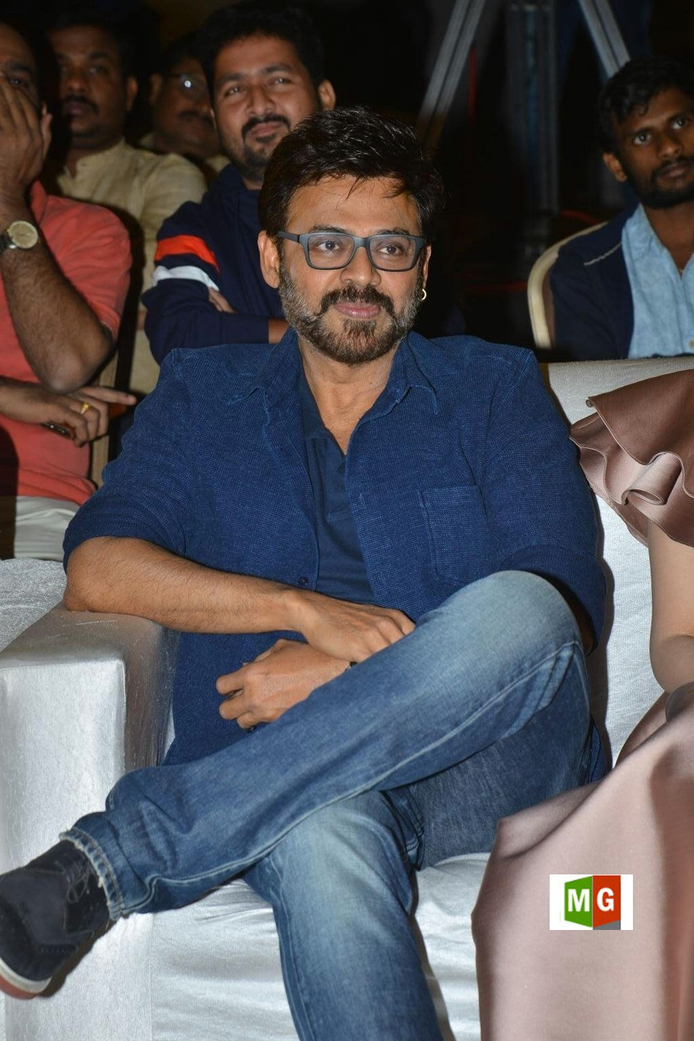 Venkatesh @ F2 Movie Press Meet Stills