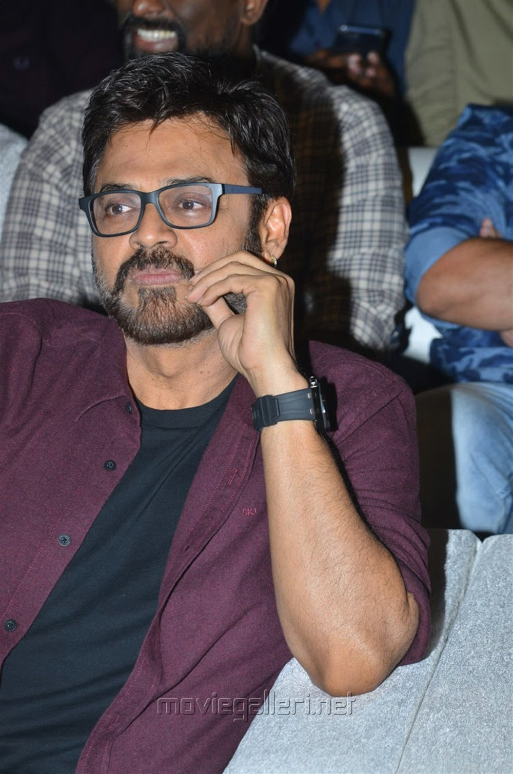 Venkatesh @ F2 Movie Success Meet Stills